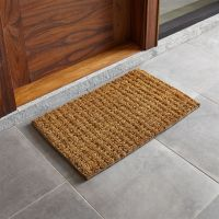 """Knotted 30""""x18"""" Jute Doormat + Reviews 