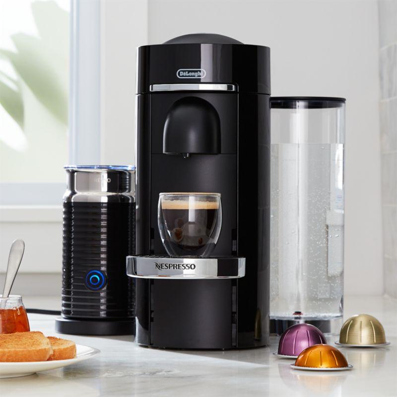 Nespresso by Delonghi Vertuo Deluxe Plus Black Coffee