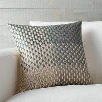 """Nikolai 18"""" Pillow with Feather-Down Insert 