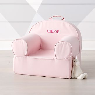 pink kids chair target outdoor cushions crate and barrel large light nod