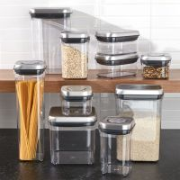 OXO Steel Pop Containers, Set of 10 + Reviews | Crate and ...