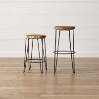 Origin Backless Bar Stools | Crate and Barrel