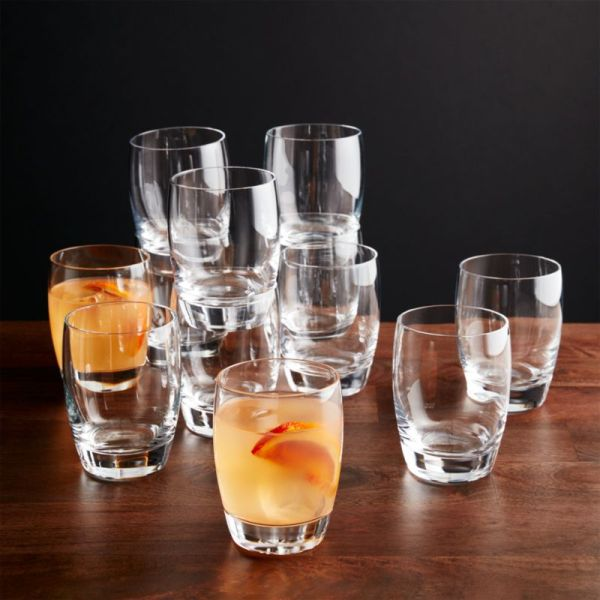 Set Of 12 Otis Double -fashioned Glasses Crate And Barrel