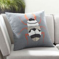 """Scarab 20"""" Sq. Outdoor Pillow + Reviews 
