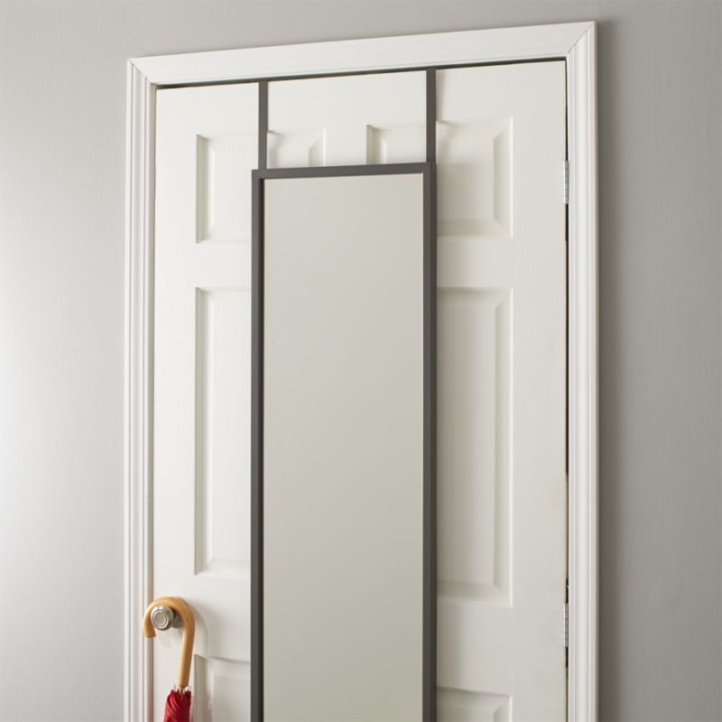 Over the Door Mirror  Crate and Barrel