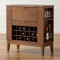 Parker Spirits Bourbon Cabinet | Crate and Barrel