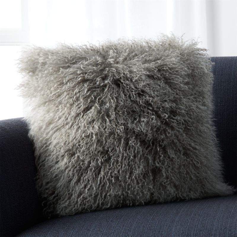 chairs for kids room antique captains chair mongolian fur silver pillow | crate and barrel