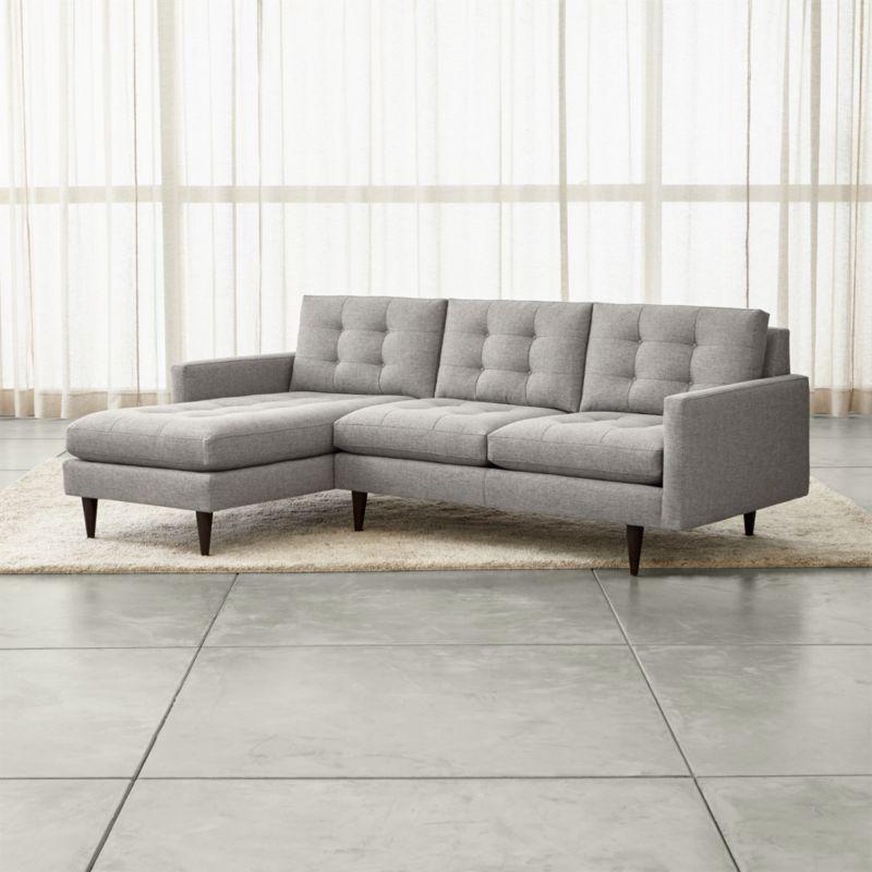 axis sofa art van laf mid blue flanigan petrie light grey 2 piece left arm chaise midcentu reviews crate petrie2pcsctralvstlajnsfltgryshf16 1x1