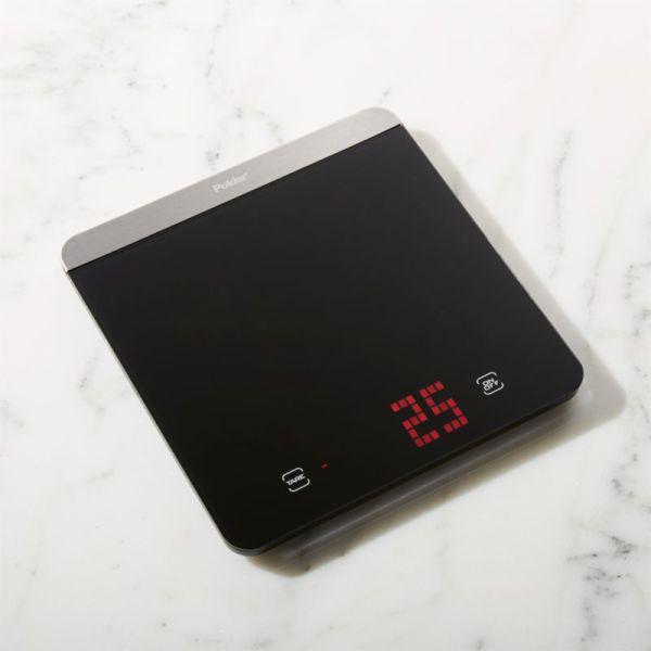 Polder Digital Kitchen Scale Crate And Barrel