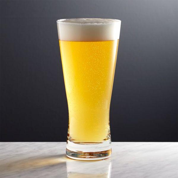 Portland 22 Oz. Beer Glass Crate And Barrel