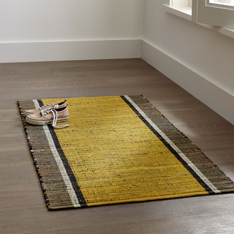 corner kitchen rug stainless steel trash can yellow rugs washable | home decor