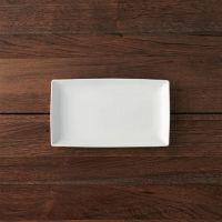 Rectangular Appetizer Plate + Reviews | Crate and Barrel