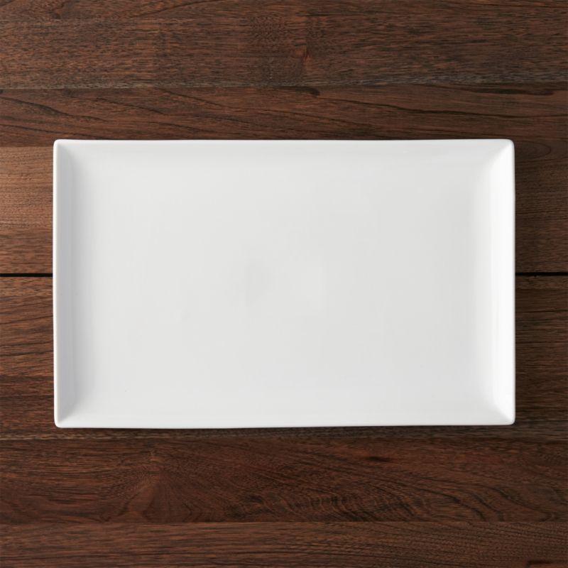 Rectangular 165x1025 Platter Reviews Crate And Barrel