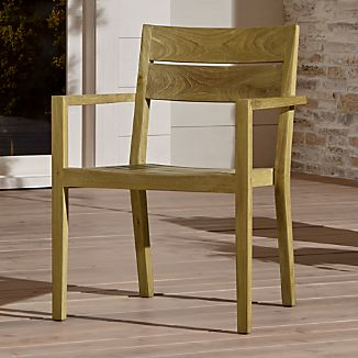 unfinished wooden chairs cheap chair covers bunnings wood crate and barrel regatta natural dining