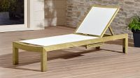 Regatta Mesh Chaise Lounge | Crate and Barrel