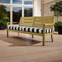 Regatta Sofa With Sunbrella Cushion Crate And Barrel