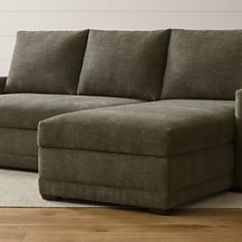 Axis Ii Slipcovered Twin Sleeper Sofa High End Pillows Beds And Sofas: Save 20% | Crate Barrel
