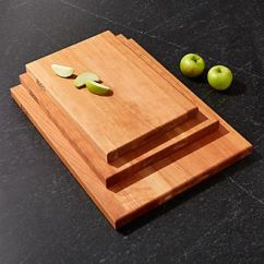 Kitchen Cutting Boards Kitchenaid Scale Wood Plastic Epicurean Crate And Barrel John Boos Reversible Cherry