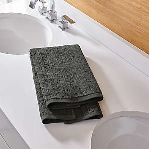 Bathroom Hand Towels Crate And Barrel