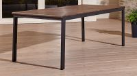 Rocha Outdoor Rectangular Dining Table | Crate and Barrel