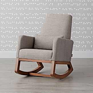 crate and barrel rocking chair hanging bedroom chairs joya