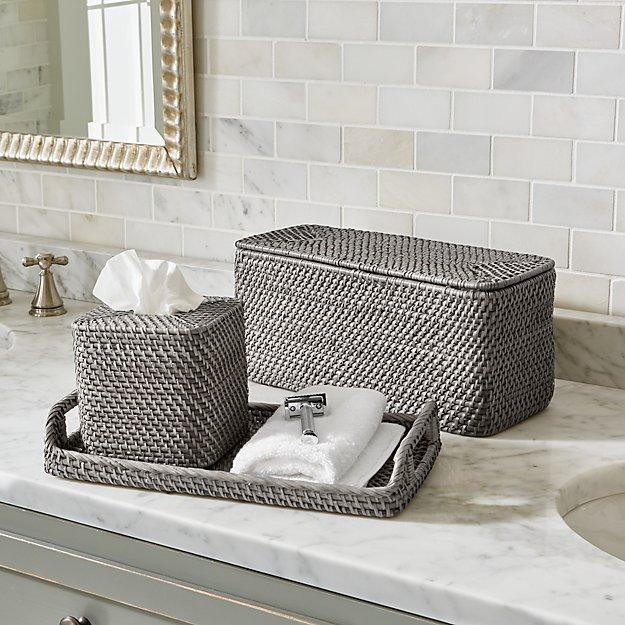 Grey Bathroom Set