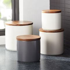 Kitchen Canister Hotels With Kitchens In San Diego Canisters Crate And Barrel