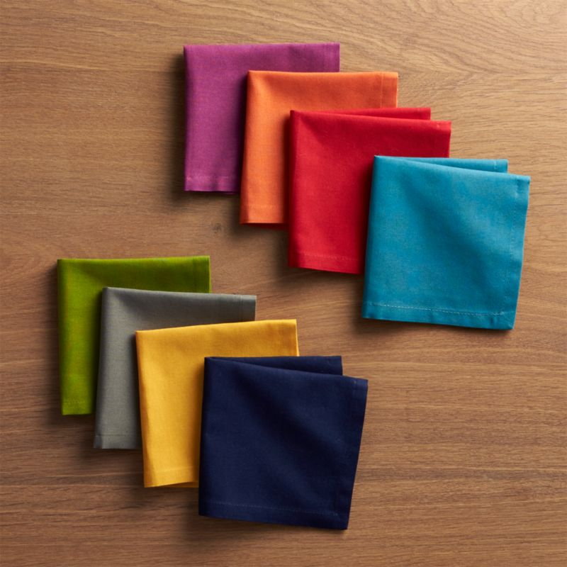 Spectra Cloth Cocktail Napkins Set of 8 Reviews Crate