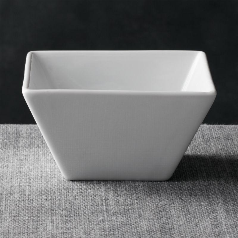Square 475 Bowl  Reviews  Crate and Barrel