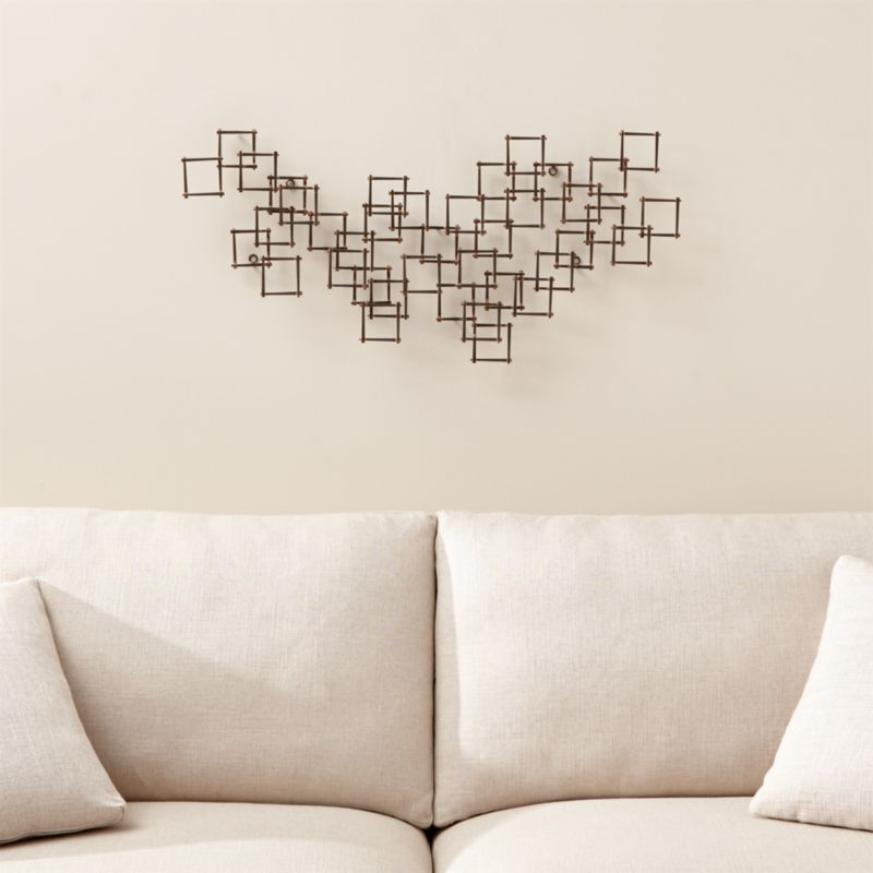 metal wall art decor for living room best color to paint a small nail crate and barrel