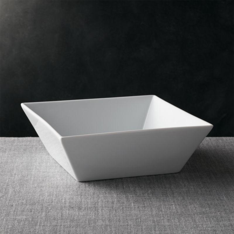 Square 11 5 Quot Serving Bowl Reviews Crate And Barrel