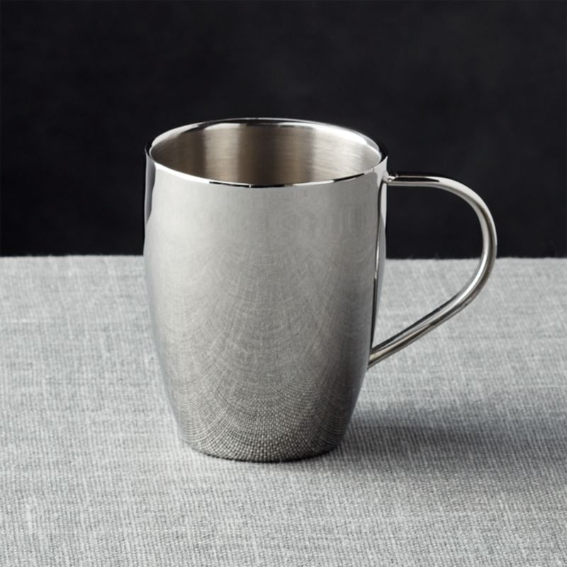 Insulated Stainless Steel Coffee Mug  Reviews  Crate and
