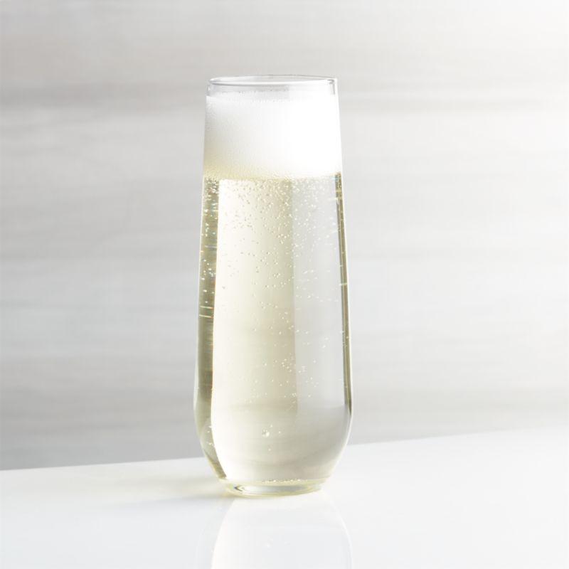 Stemless Flute Glass 9 oz. + Reviews