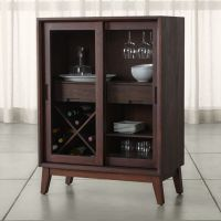 Steppe Bar Cabinet | Crate and Barrel