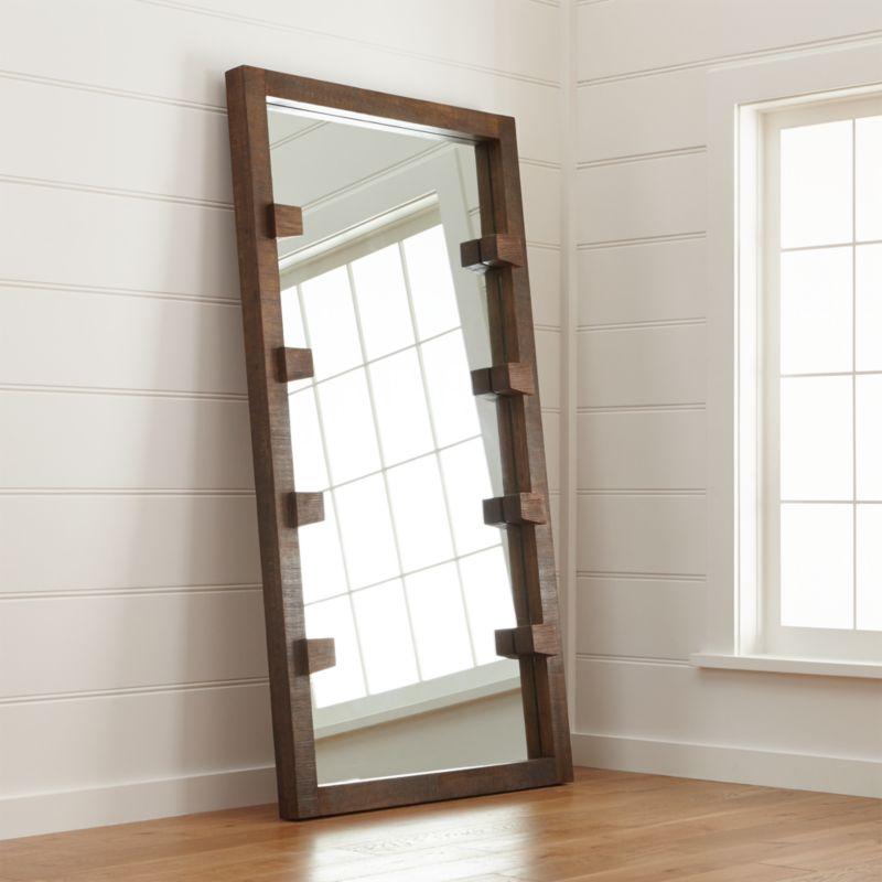 Stilt Floor Mirror  Reviews  Crate and Barrel