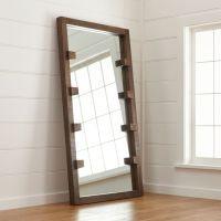 Stilt Floor Mirror + Reviews | Crate and Barrel