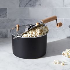 Big Kitchen Islands Target Furniture Stovetop Black Popcorn Popper + Reviews | Crate And Barrel