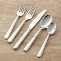 Strand 5-Piece Flatware Place Setting | Crate and Barrel