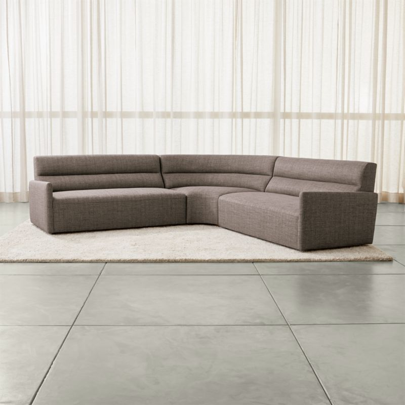 customize your sectional sofa leather las vegas sydney 3 piece curved reviews crate and barrel sydney3pcsclasfarmlswdgrasfshs17 1x1