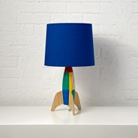 Rocket Table Lamp in Table Lamps + Reviews | Crate and Barrel