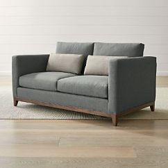 8 Way Hand Tied Sofa Brands In Canada White Leather 2 Seater Sofas Crate And Barrel Taraval Oak Wood Base Loveseat