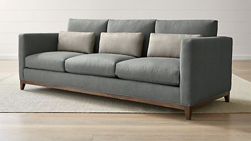 moods 3 seater leather sofa bed set philippines sofas couches and loveseats crate barrel taraval seat oak wood base
