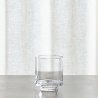 Taylor Small Glass Hurricane Candle Holder | Crate and Barrel