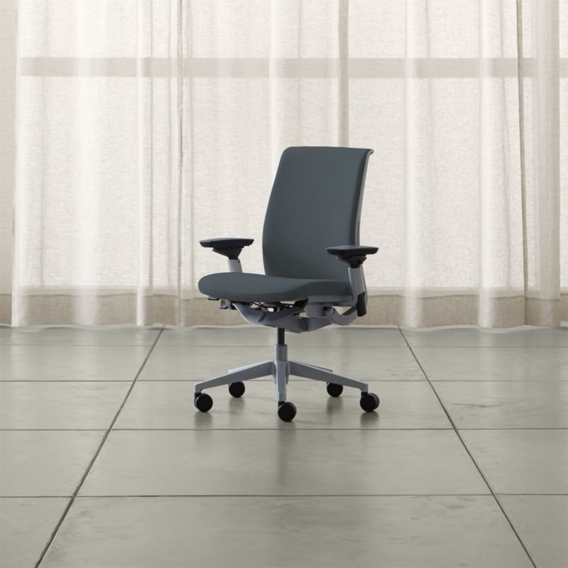 steelcase chair office for sciatica nerve pain think reviews crate and barrel thinkchairshadowshs17 1x1