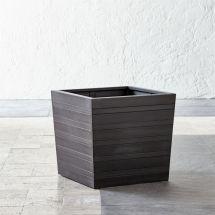"""Tidore Square 16"""" Planter Crate And Barrel"""