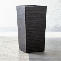"""Tidore Tall 27.5"""" Planter Crate And Barrel"""
