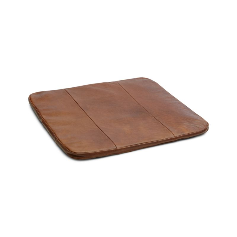 cheap seat cushions for chairs bedroom chair loaf kitchen dining and bar stools crate barrel tig brown leather cushion
