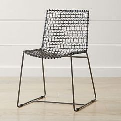 Chair Design Iron Patio Plans Diy Metal Dining Chairs Crate And Barrel Tig