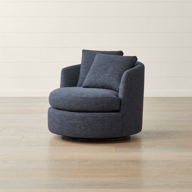 Tillie Swivel Chair  Reviews  Crate and Barrel