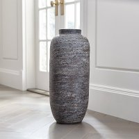 Timber Grey Floor Vase | Crate and Barrel
